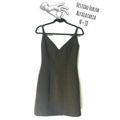 Vestido  Forum N°38  Recorte alfaiataria APENAS R$ 65 REAIS 😍  🆙Atendimento c ⏰marcada  📞 Whatsapp  31 8729-0249  💳 Aceitamos débito e cred  #vestido #forum #feminino #dress  #likes #uohbrecho #brecho #2hand #moda #instagood #pretty #style #girl  #love #brechoinfantil  #cool #good #cute #follow #fashion #fun #igers  #ootd #blogger #inlove #model #blog #belohorizonte #brasil
