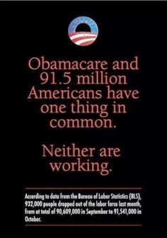 Obamacare  Not Working