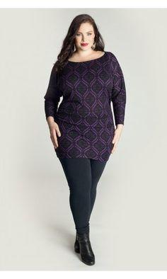 http://www.curvety.com/separates-c7/tops-c11/igigi-by-yuliya-raquel-toccara-plus-size-sweater-tunic-in-purple-p436