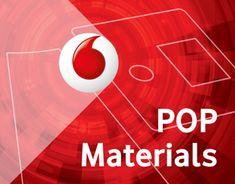 Vodafone Store - POP materials on Behance Graphic Design Print, Design Art, O Pop, Online Portfolio, My Works, Behance, Branding, Neon Signs, Display