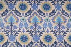 Waverly Santa Maria Printed Cotton Drapery Fabric. This printed fabric is perfect for window treatments, decorative pillows, handbags, light duty upholstery applications and almost any craft project...