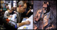 Juan Díaz Canales, un grande del cómic. De Blacksad a Corto Maltés. - http://www.actualidadliteratura.com/juan-diaz-canales-comic/
