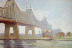 Edward Hopper - .Queensborough Bridge (1913)