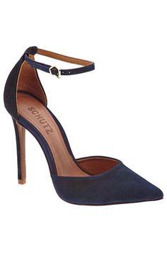10 Office-Ready Navy Blue Fashion Picks: Schutz Irma Heels from Piperlime.