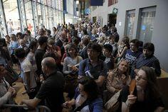 La coda per Nanni Moretti foto by Salone Internazionale del Libro @SalonedelLibro