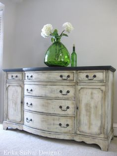 SOLD Vintage Antique French Country Design di ErikaSzilvaiDesign