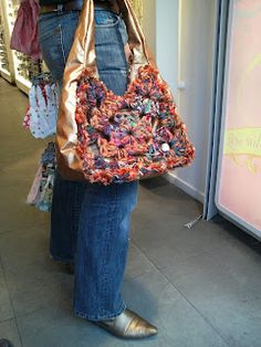 Granny Square bag crochet by Wilbert