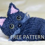 Knitted Kitty Cat      This is my first ever documented pattern. It is for this lovely kitty cat I recently made for a friend! I hope you ...