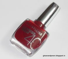 Maybelline Express Finish Nail Color~ Review & 'On Nails @ http://www.stylecraze.com/blogs/maybelline-express-finish-nail-color-review-on-nails/