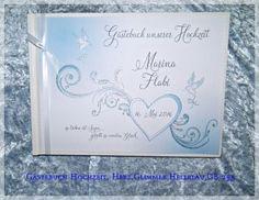 Gästebuch Hochzeit,Herz,Geschenk, GB 255