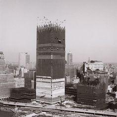 The World Trade Center, circa 1966 Como pode alguém ter tanta maldade em seu coração e destrui-lo?
