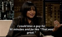 Mindy Kaling Discusses The Problem With Kissing These Days