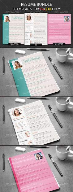 Ultimate Collection Of Free Adobe Indesign Templates - Cv Resume