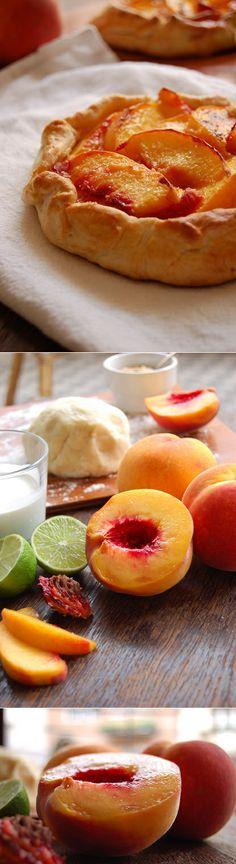 End of Summer Peach Galette.