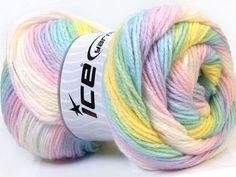 Magic Baby Pastel Rainbow | Ice Yarns Online Yarn Store