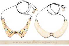 One Good Thing: Jewelry fromPolli - Home - Creature Comforts - daily inspiration, style, diy projects + freebies
