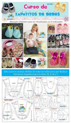 Realiza Diseños Profesionales con este Curso fabrica Zapatitos para Bebes con moldes y talle , cientos de Modelos para realizar Zapatitos de bebes , Modelos exclusivos