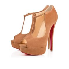 CHRISTIAN LOUBOUTIN Altapoppins 150Mm Noisette Suede. #christianlouboutin #shoes #
