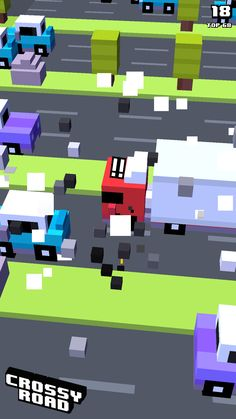 18 on #crossyroad. My top is 68.