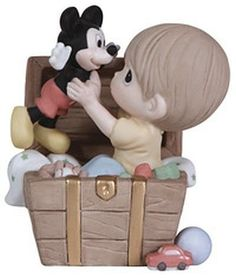 Precious Moments Disney I'm so Happy to Have Found You Boy with Mickey Mouse 129017 - http://www.preciousmomentsfigurines.org/precious-moments/precious-moments-disney-im-so-happy-to-have-found-you-boy-with-mickey-mouse-129017/