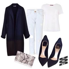 #classy #blue #outfit #trend #fashion #woman