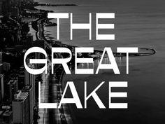 The Great Lake Michigan Great Lakes Michigan, Lake Michigan, Web Design, Typography, Design Inspiration, Letterpress, Design Web, Letterpress Printing, Website Designs