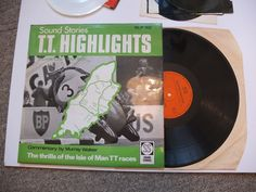 SOUND STORIES SS T.T. Highlights Motorbike Vinyl LP Record Vol 1 2 Murray Walker