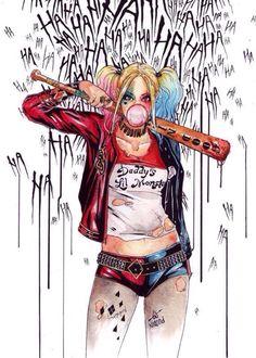Harley Quinn | Haha | ❥