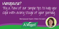 Menopause Help.A.Vogel menopause tips. Menopause? No sweat! Lifestyle advice and self help tips to help you through menopause. sage. valerian.   #womenshealth #perimenopause  #lifestages http://www.avogel.co.uk/health/menopause/menopause-treatment/  http://www.avogel.co.uk/health/menopause/   #naturaltreatments #health #middleage
