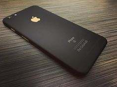 Matte black iPhone 6