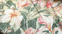 Big Flowers Design Print59 inches wide Conversion 1m metre 39 inches Viscose Jersey Stretch Fabric