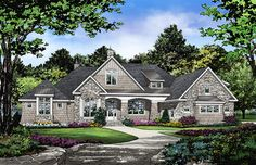 Home Plan The Mitchell by Donald A. Gardner Architects