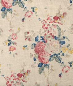 Shop Ralph Lauren Camille Floral Bleu Fabric at onlinefabricstore.net for $85.8/ Yard. Best Price & Service.
