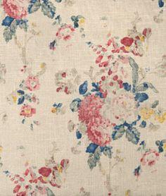 Shop Ralph Lauren Camille Floral Bleu Fabric at onlinefabricstore.net for $85.8/ Yard. Best Price & Service.