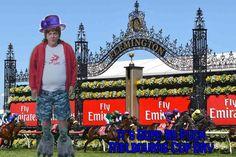 """Lisa Nguyen on Instagram: """"#gavinmcgregor #dopeasfuck #melbournecup #frothers #gayhurst #lunatics #netflix #chrislilleymemes #chrislilley #flemingtonracecourse…"""" Chris Lilley, Flemington Racecourse, Melbourne Cup, Netflix, Lisa, Gay, Memes, Instagram, Meme"""