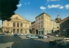 Viterbo in Cartolina - Piazza Verdi (o del Teatro) e dintorni 1960
