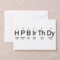 happybirthday Greeting Card Periodic Table Birthday Greeting Cards by Chemistees by Cecilia Periodic Table Birthday Cards (Pk of on 18th Birthday Cards, Bday Cards, Birthday Cards For Friends, Funny Birthday Cards, Birthday Greeting Cards, Birthday Quotes, Birthday Greetings, 18th Birthday Gifts For Best Friend, Birthday Card Design