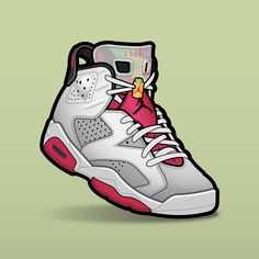 "SLOFAR on Instagram: ""Jordan 6 ""Hare"" 🥕🐰 finaly released today after several pushed back. #sneakerart #sneakerposters #sneakervector #vector #vectorart #jordan6…"" Jordan Vi, Air Jordan Shoes, Sneaker Posters, Sneaker Art, Jordan Retro 1, Shoe Art, Vector Art, Air Jordans, Sneakers Nike"