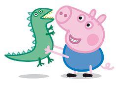 Imagens Peppa Pig. Mamãe Pig, Papai Pig e George em PNG - Convites Digitais…