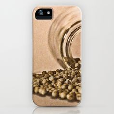 peppercorn iPhone & iPod Case by Karl-Heinz Lüpke - $35.00