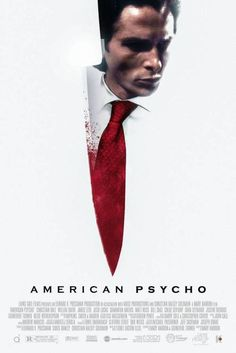 American Psycho by DarkSideofDesign Best Movie Posters, Love Posters, Movie Titles, Film Posters, Cult Movies, Horror Movies, American Psycho Poster, Cartoon Pop, Samantha Mathis