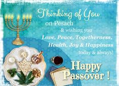 wish your friends and loved ones a happy passover with this ecard