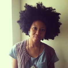 Don't know who this beautiful lady is but her hair is EVERYTHING!!!!! #hair #natural #bighairdontcare