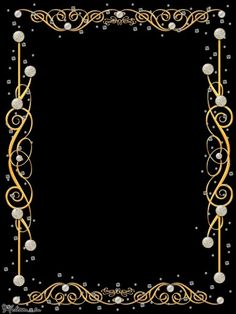 Framed with Gold~~J Photo Backgrounds, Wallpaper Backgrounds, 3d Wallpaper Black, Christmas Letterhead, Flower Graphic Design, Planets Wallpaper, Montage Photo, Frame Background, Frame Template
