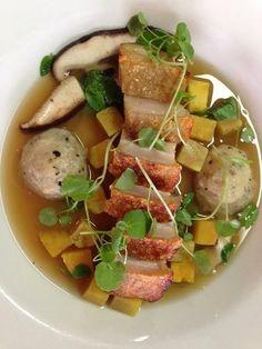 Fancy pork & puha boil up World Recipes, Diet Recipes, New Zealand Food, Wafer Thin, Food Tech, Polynesian Food, Island Food, Languages, Food Network Recipes