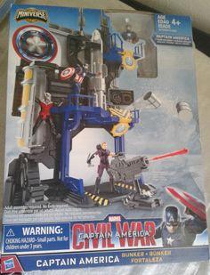 Marvel Avengers Captain America Civil War Bunker Play Set
