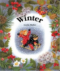 Winter -- This wordless board book allows even the youngest children to enjoy all the things that only happen during wintertime, from shovelling snow to ice-skating to decorating a Christmas tree.