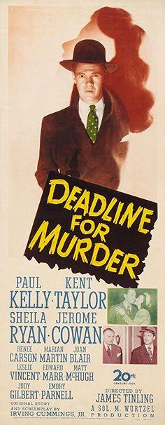 Paul Kelly, Sheila Ryan, and Kent Taylor in Deadline for Murder (1946)