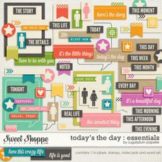Today's the Day : Essentials by Sugarplum Paperie