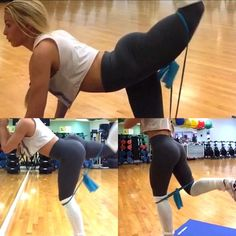 Working on building that shelf  - Try these until failure using just a resistance band  - #Mandysacs  #WbffBikiniWorldChamp #Booty